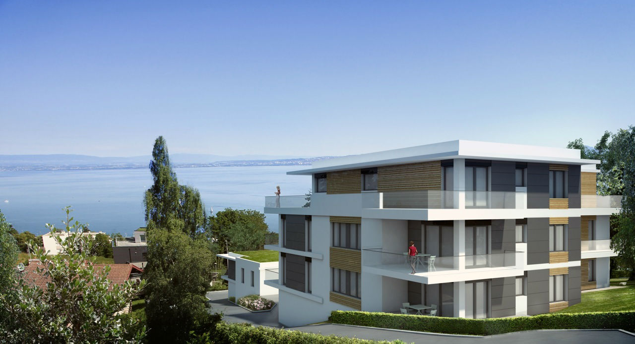 Appartements maison programme neuf evian sotheby s for Achat maison evian